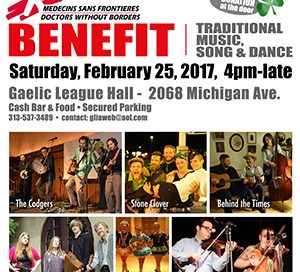 Benefit for Doctors Without Borders