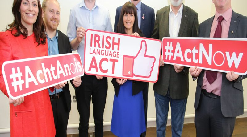 5 Parties for Stand-Alone Irish Language Act