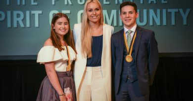 Award-Winning Youth Volunteers from Ireland Honored in Washington, D.C. by The Prudential Spirit of Community Awards