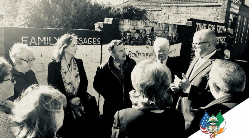 Madigan Muses: Hibernians Host Carmel Quinn from Ballymurphy,  Speaking on the Ballymurphy Massacre