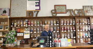 Blowin' In: Shop Small, Eat Local, Love Large